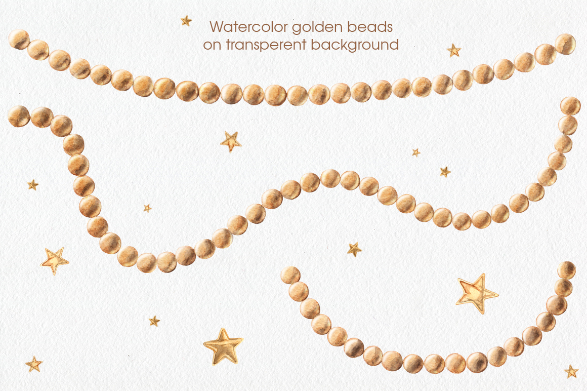Golden Bows, Ribbons & Beads example image 3