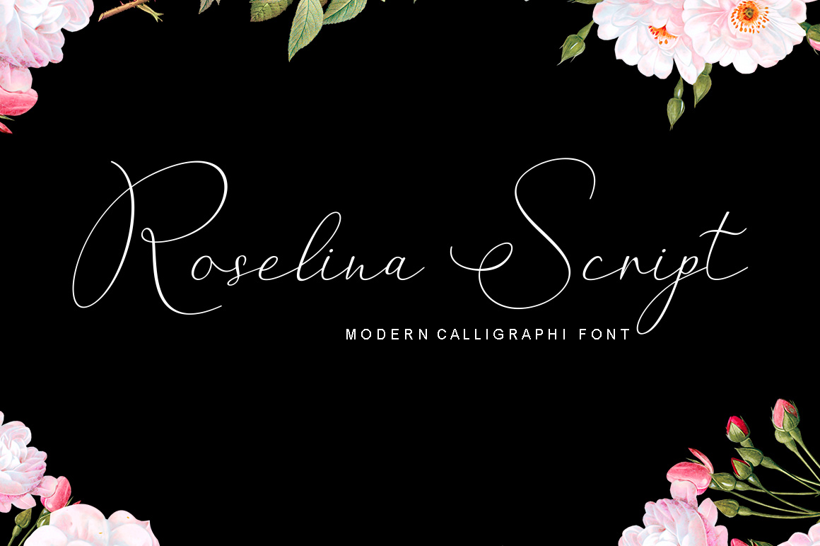 Roselina Script example image 1
