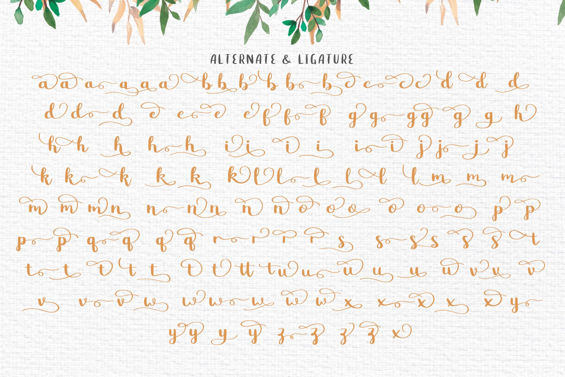 Betty Rose - Handwritten Font example image 8