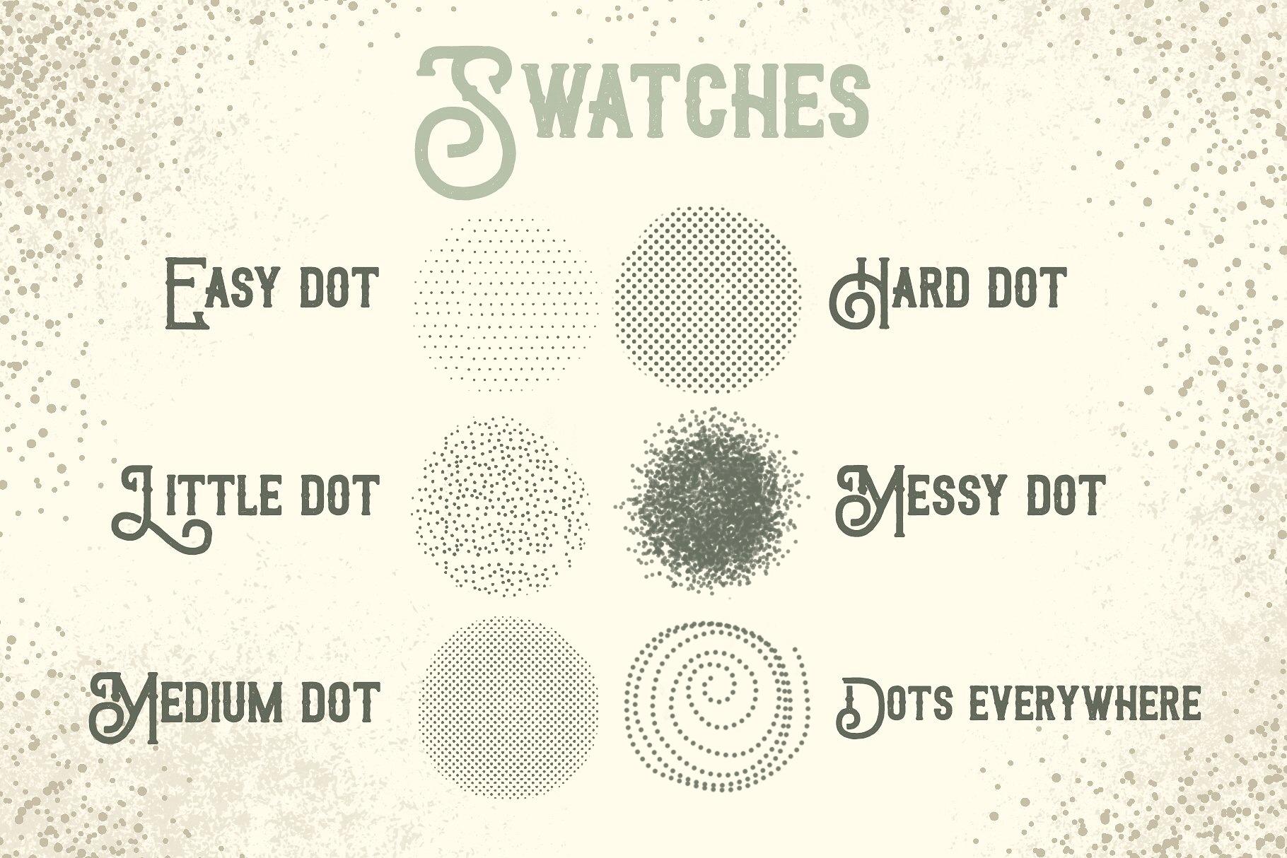 Procreate Brushes Dots everywhere example image 3