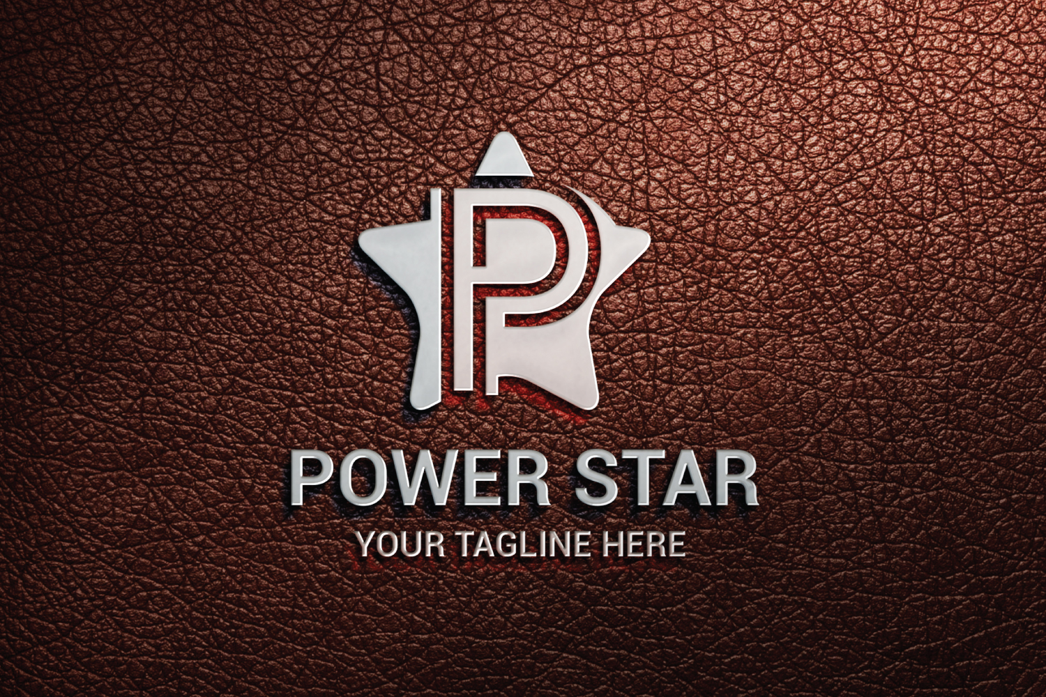 P letter Star logo example image 3