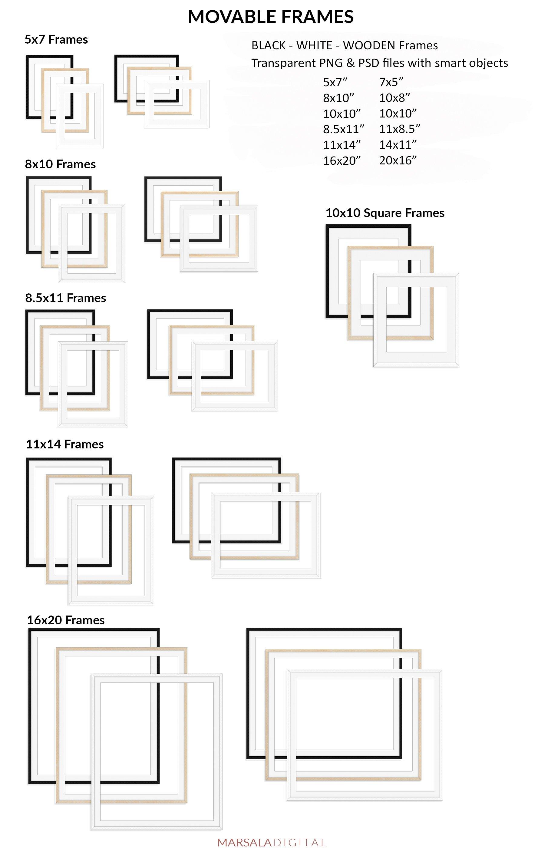 Massive Interior Wall Mockup, Frame Mockup Bundle FREE sampl example image 28