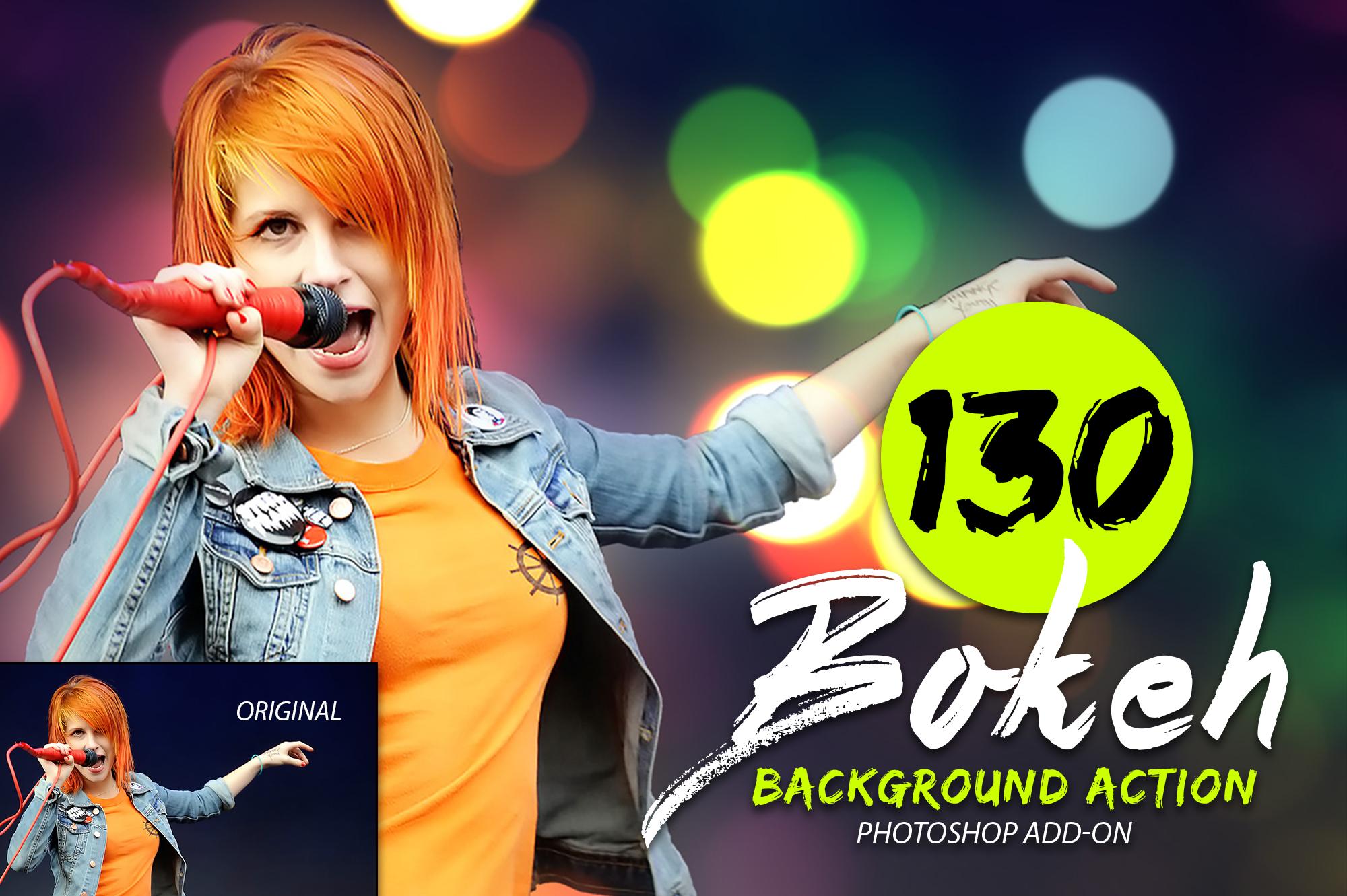 130 Bokeh Photoshop Action example image 4