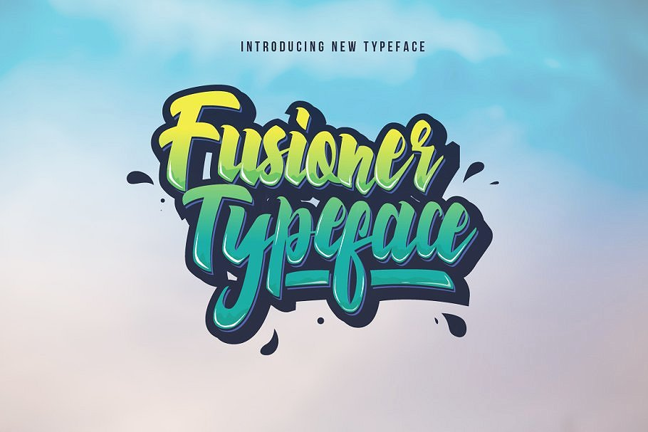 1 Fonts less than $1! Black Friday example image 6