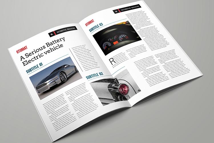 Automotive Magazine Template - Otomat example image 10