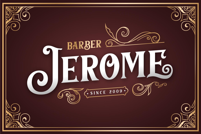 Barthez - Victorian Serif Font example image 2