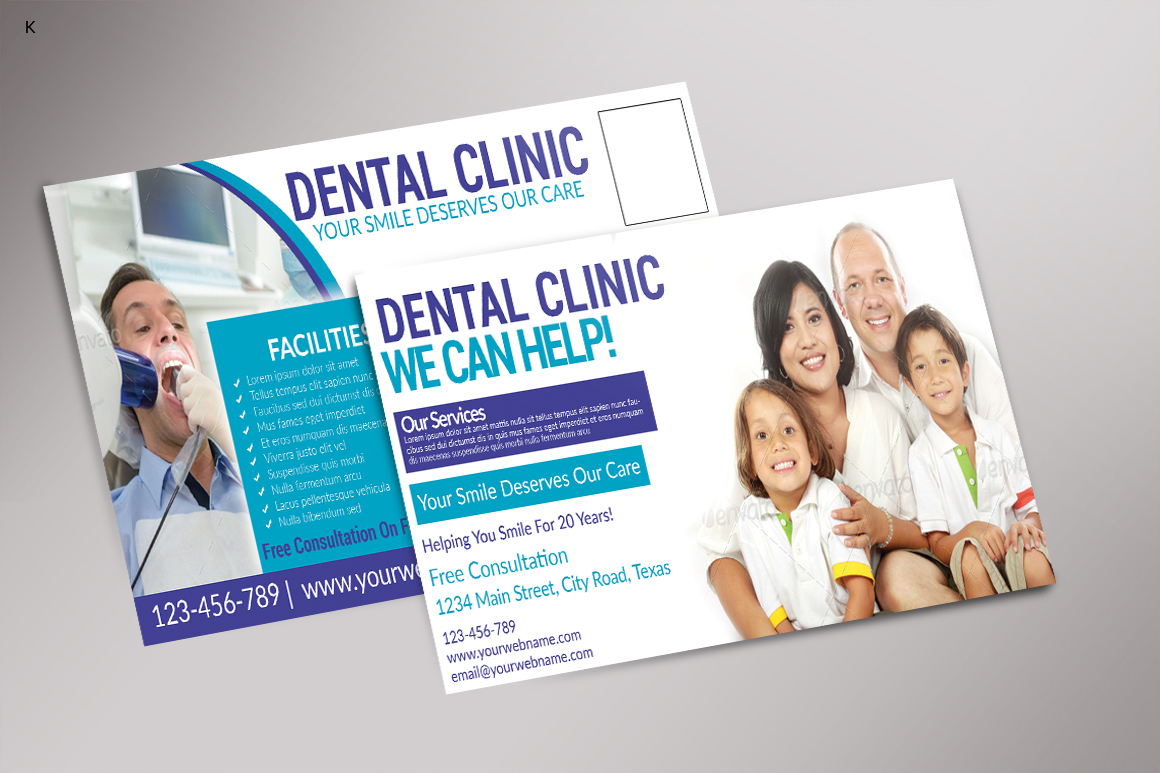Dental Care Post Card example image 3