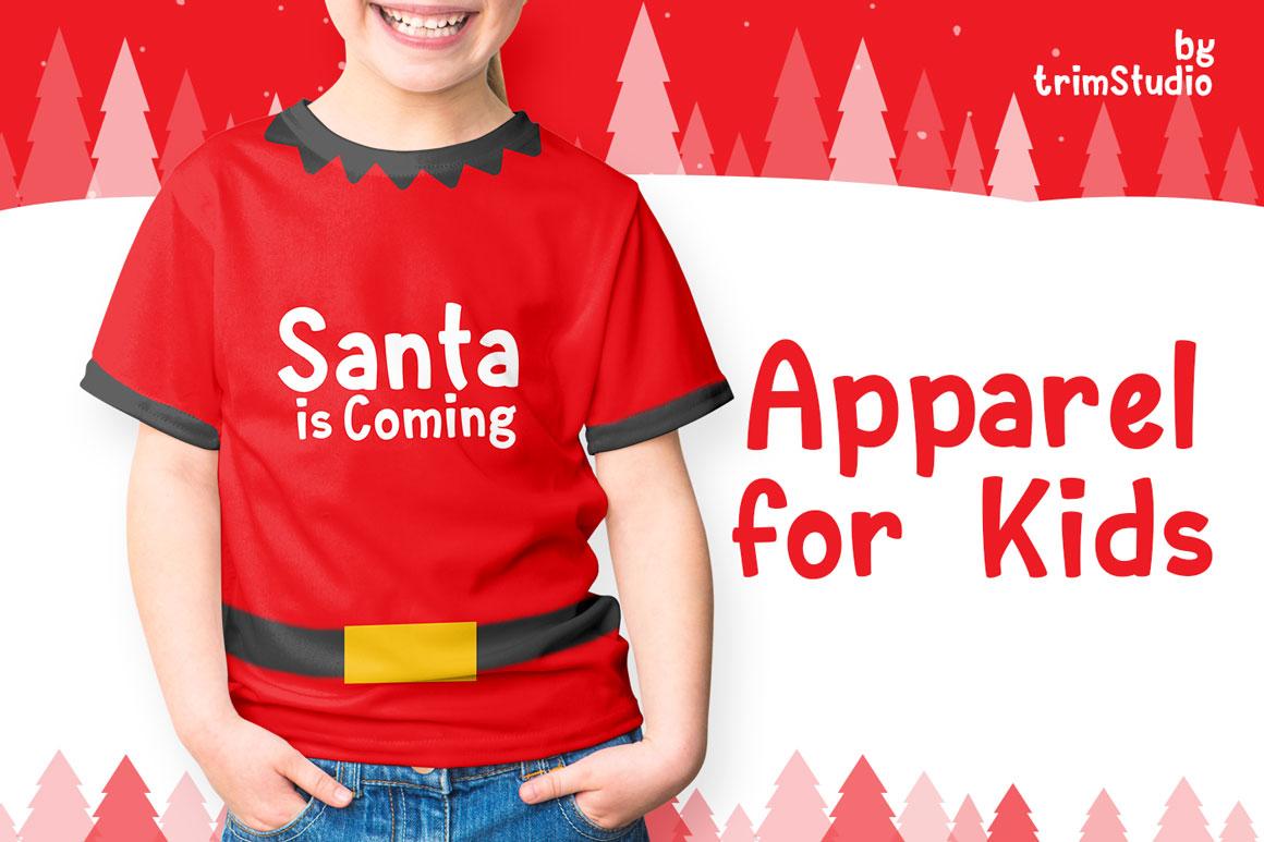 Santay - Bold Christmas Font example image 3