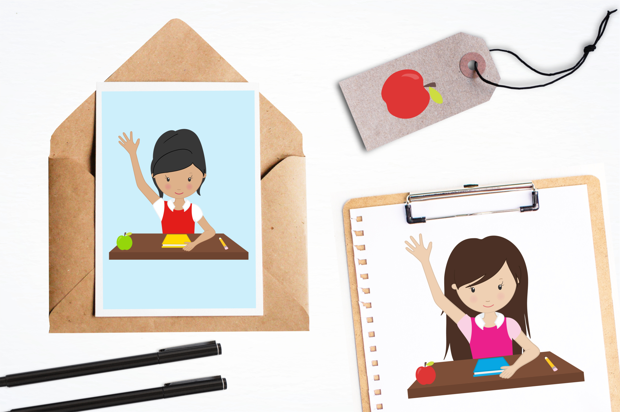 Classroom Fun graphics and illustrations example image 4