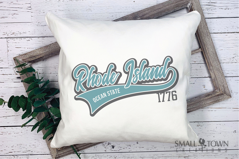 Rhode Island, Ocean State - slogan, PRINT, CUT & DESIGN example image 3