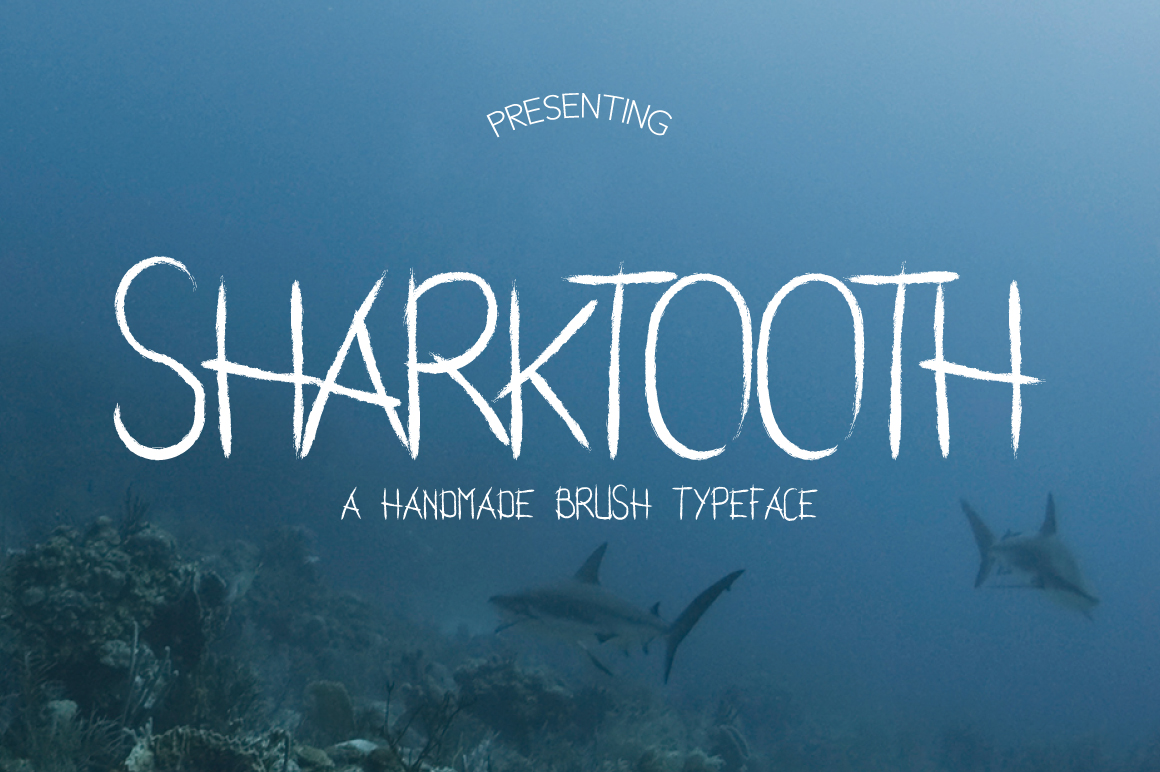 Sharktooth Typeface example image 1