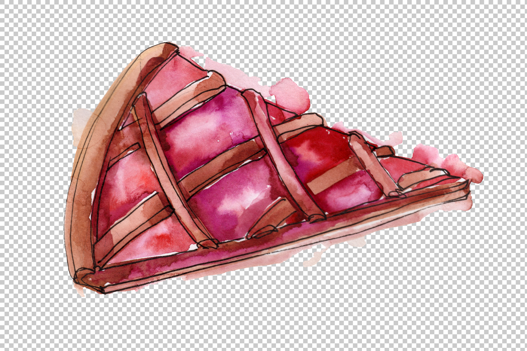Desert around the world Watercolor png example image 4