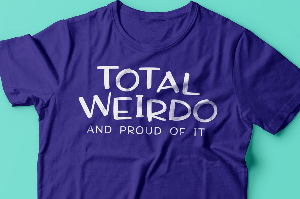 Virga trio: fun t-shirt mockup