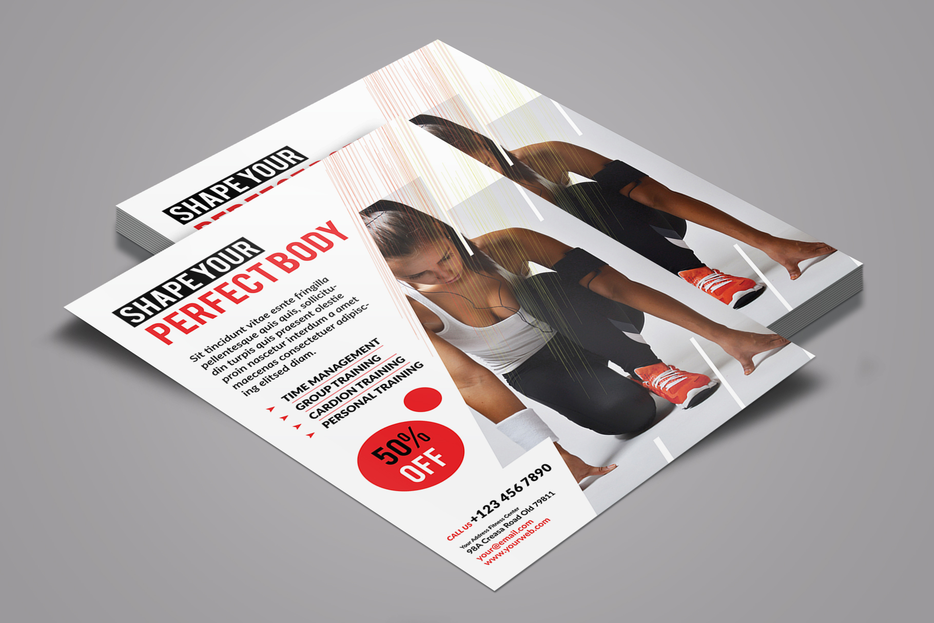 Fitness Flyer example image 2