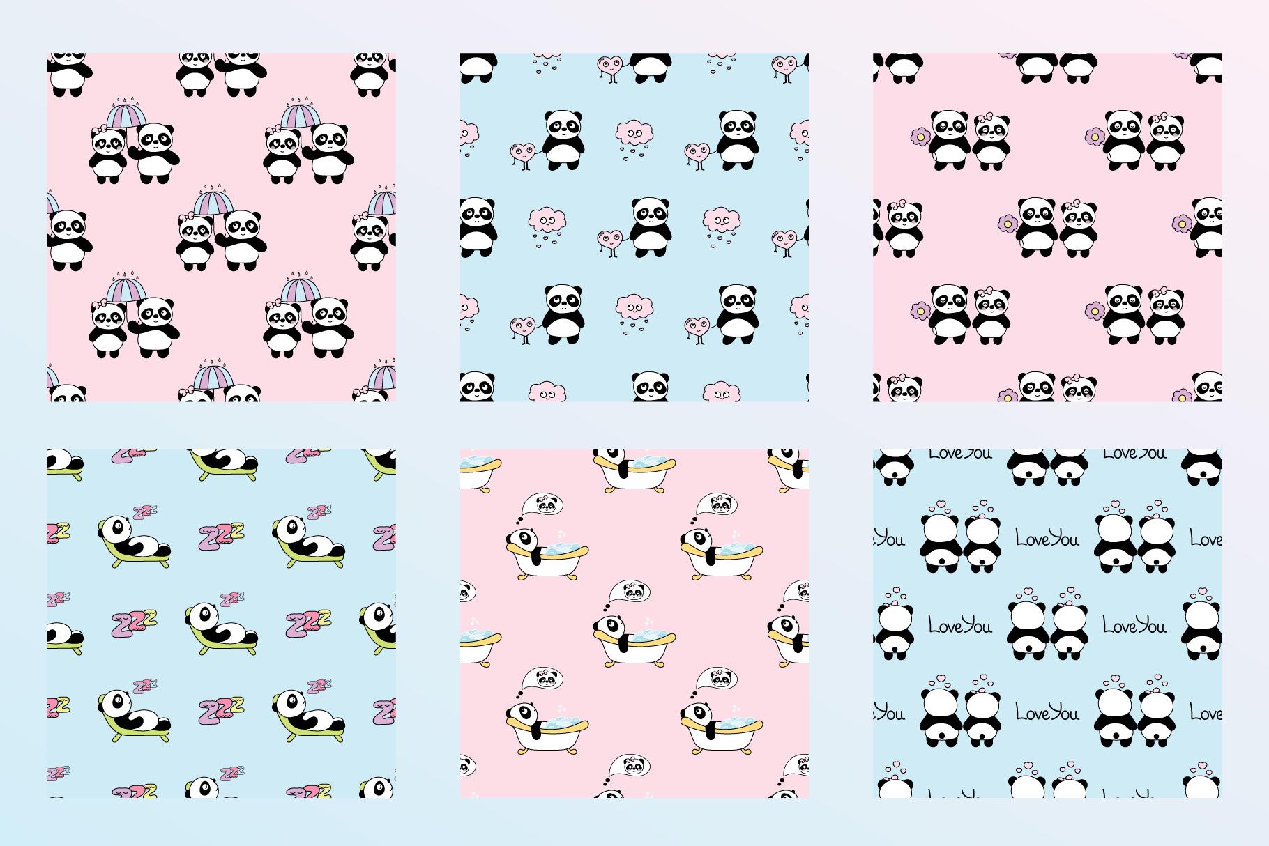 Cute Panda example image 4