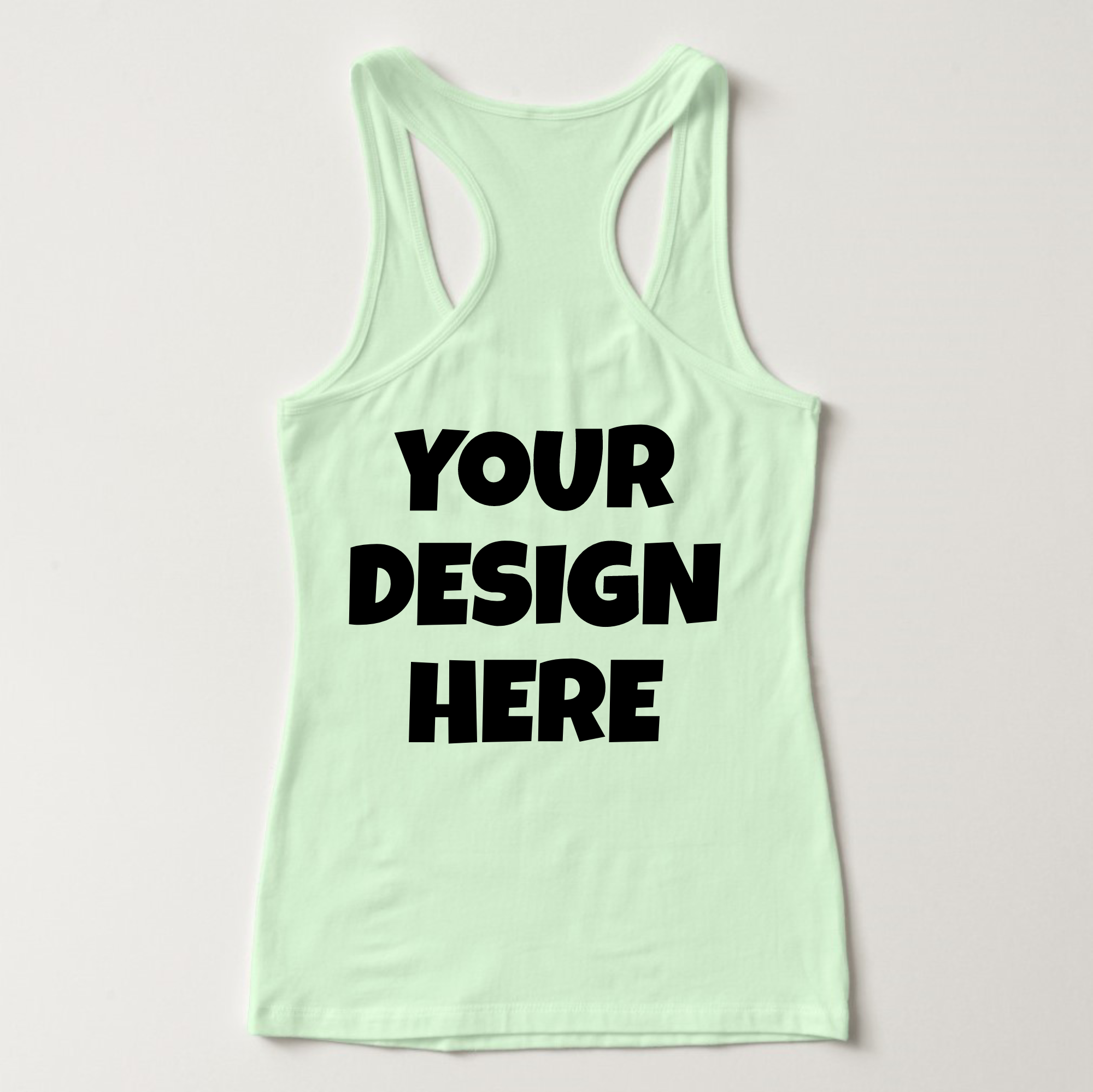 Ladies Tank Top Mockups - 20|Front/Back|PNG example image 12