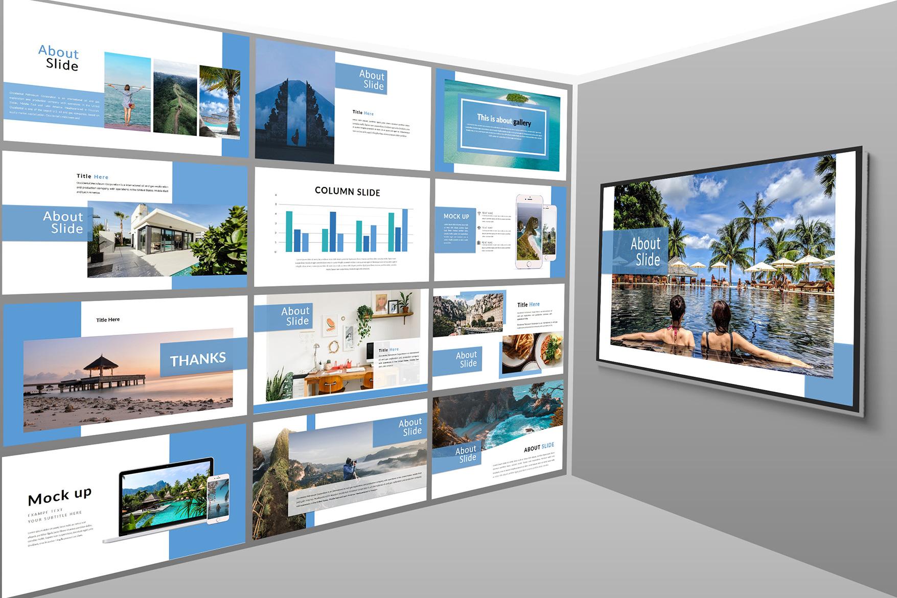 Holiday - Google Slides Presentation example image 4