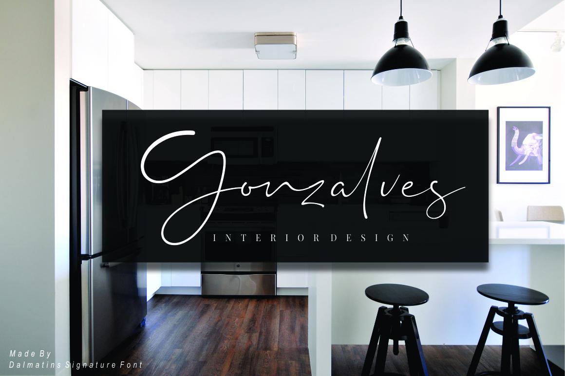 Dalmatins // Elegant Signature Font example image 8