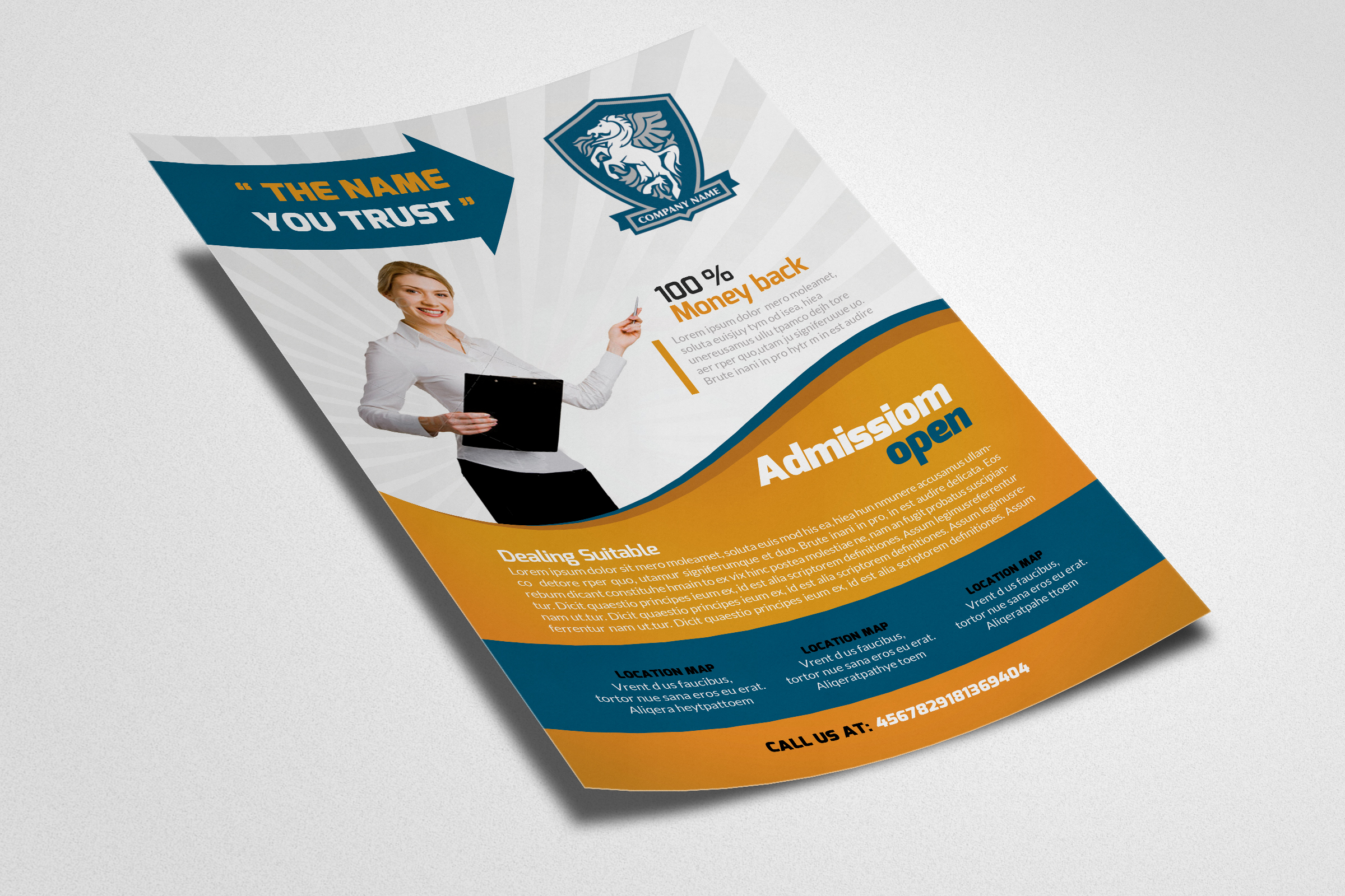 Business Analyst Flyer Template example image 2