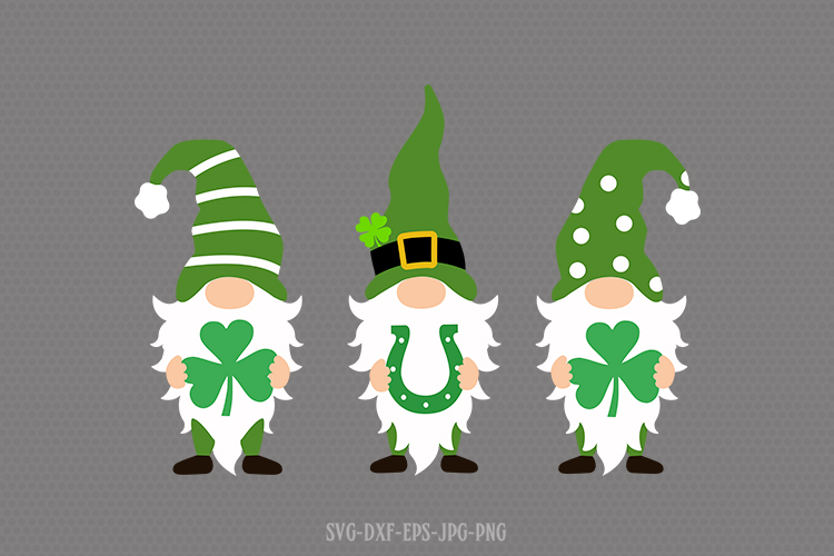 Download St Patrick's day gnomes svg. gnomes SVG
