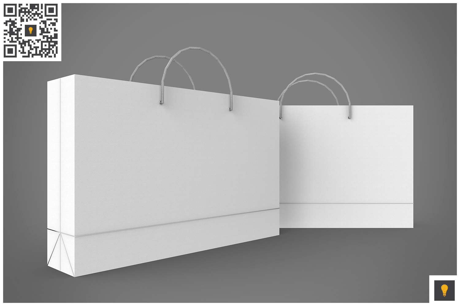 Shopping Bag 3D Render example image 12