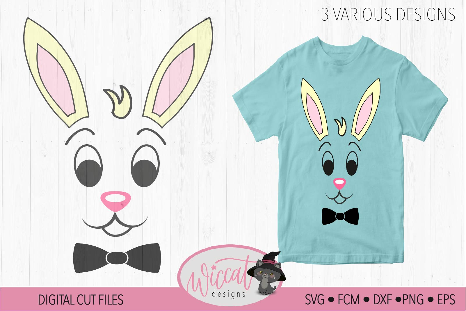 Easter bundle, easter calander, Easter bunny, Bunny face svg example image 7