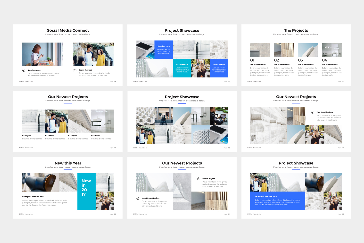 BizPro | Proposal Powerpoint Template example image 7