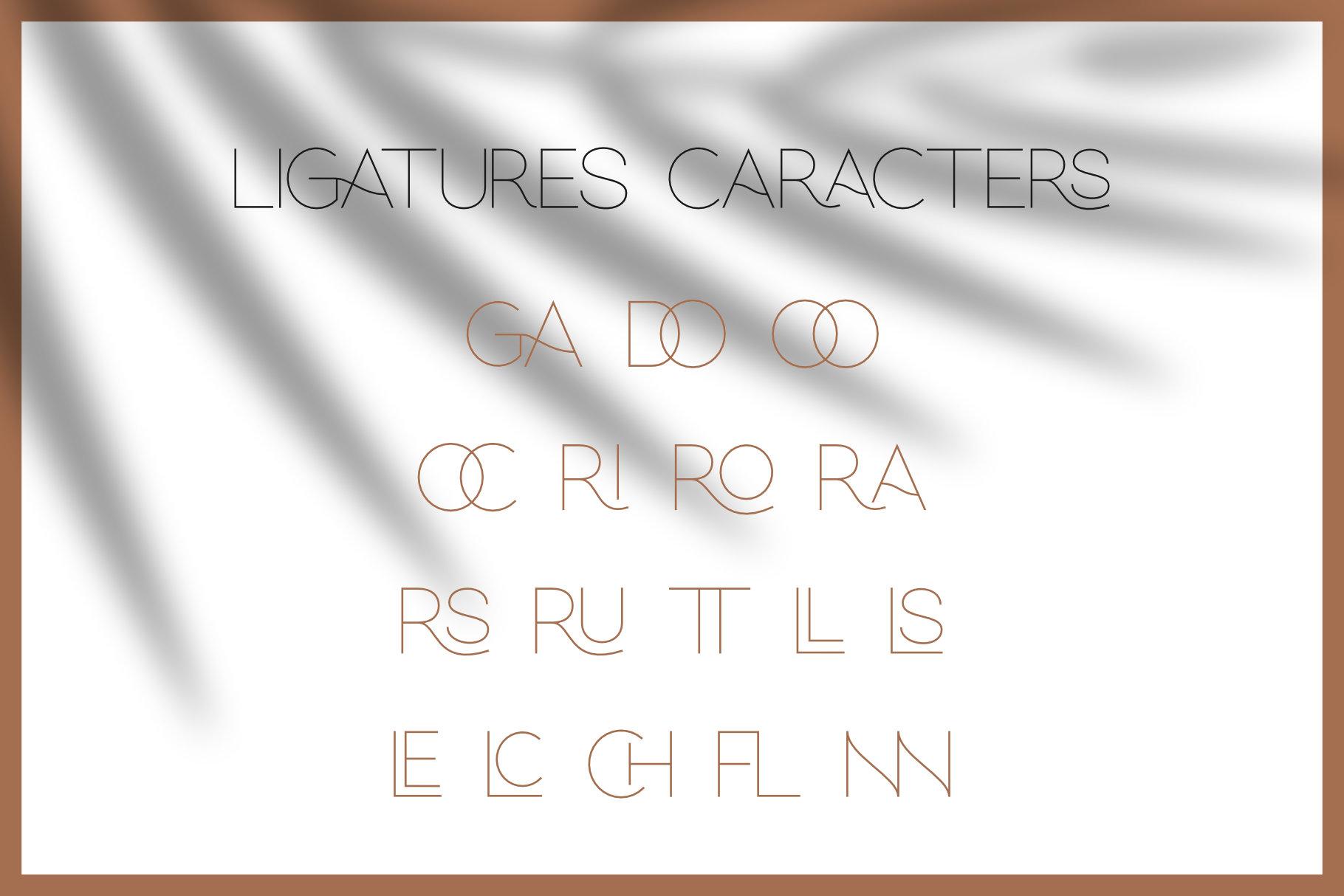 Hello Galleria Font Duo example image 9