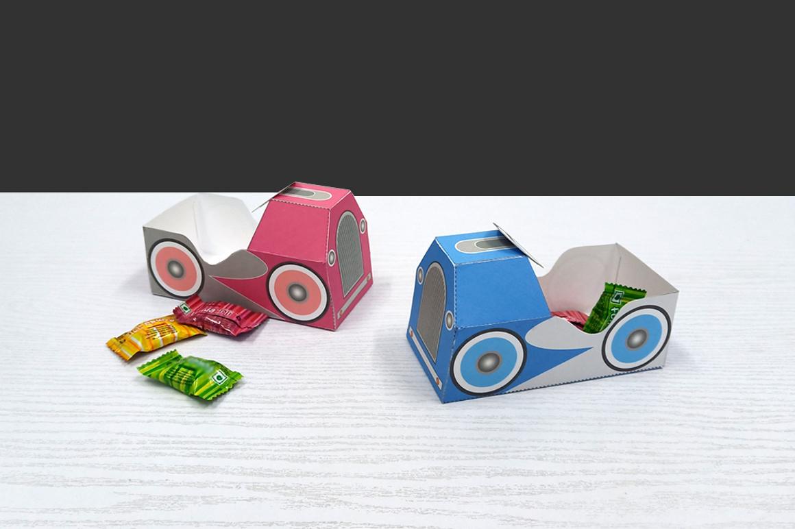 DIY Pedal car favor - 3d papercraft example image 8