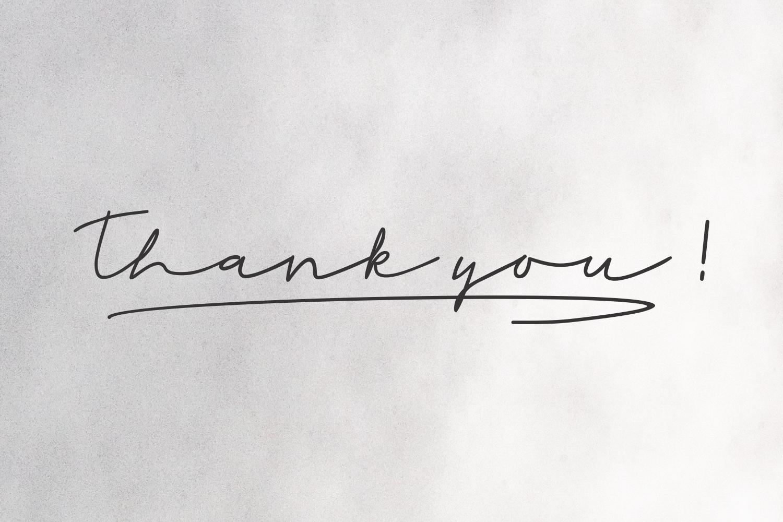 Rahayu -  A stylish signature font example image 6