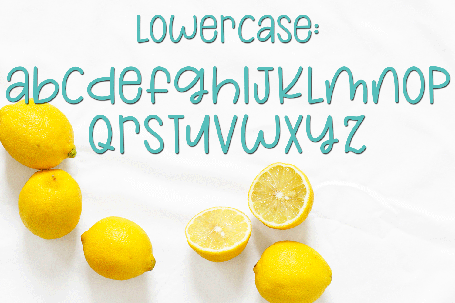 Lemons and Sugar- A Fun Hand-Written Mismatched Font example image 3