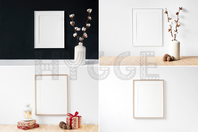 Frame Mockup Bundle, Minimalist Frame Mockup, Poster Mockup example image 6