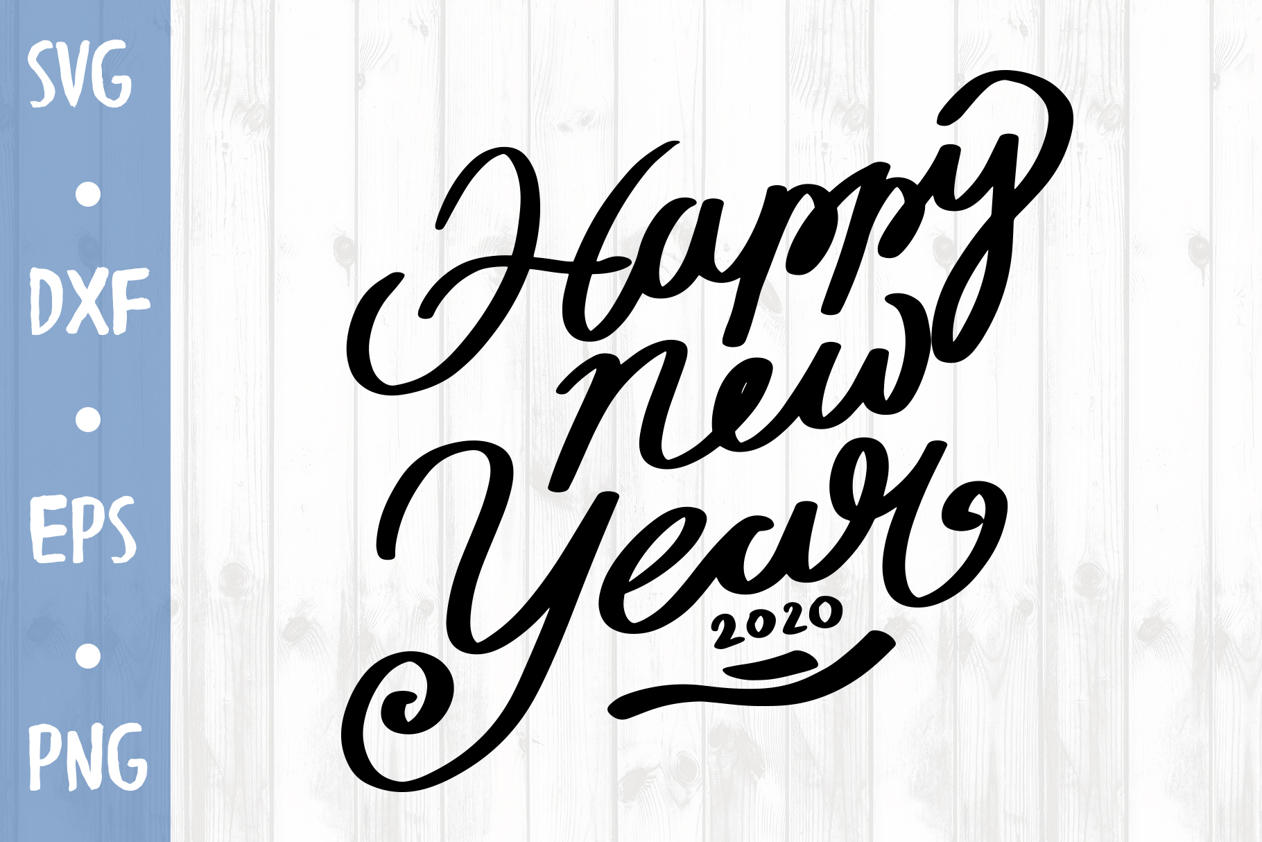 Happy new year SVG CUT FILE example image 1