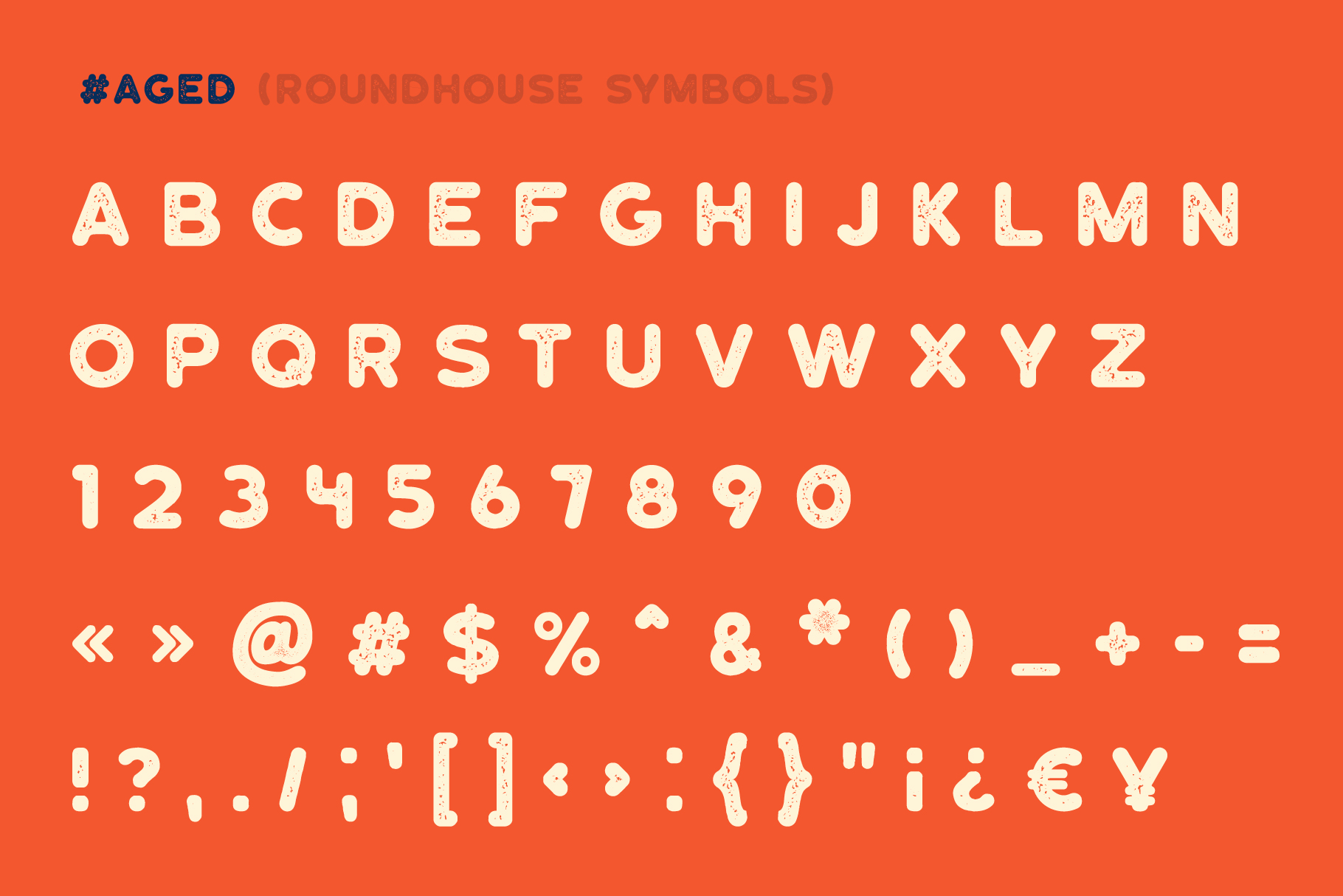 Roundhouse - Rounded Vintage Typeface example image 2