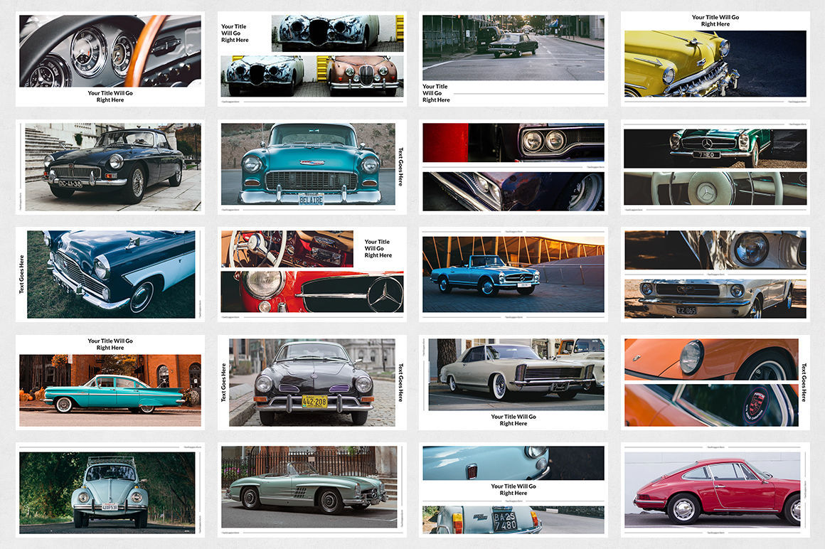 Classic Cars Twitter Posts example image 7