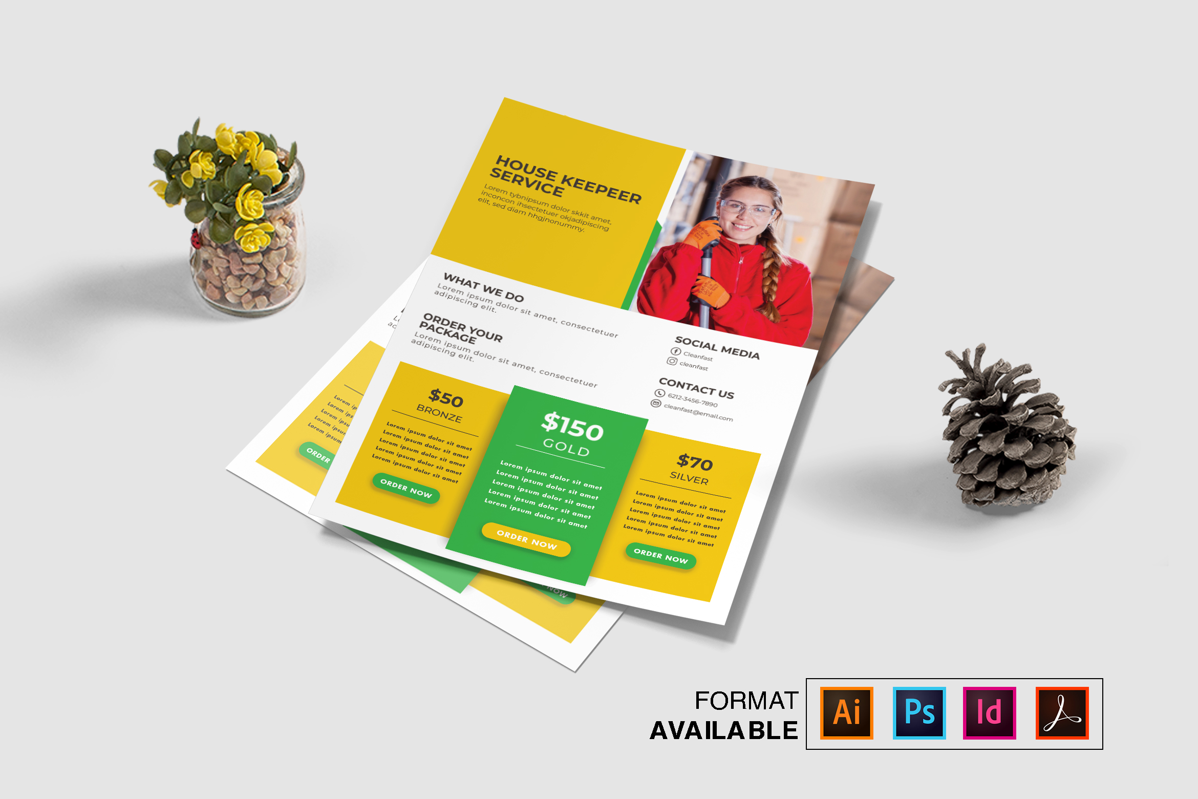 Corporate Flyer Vol. 4 example image 1