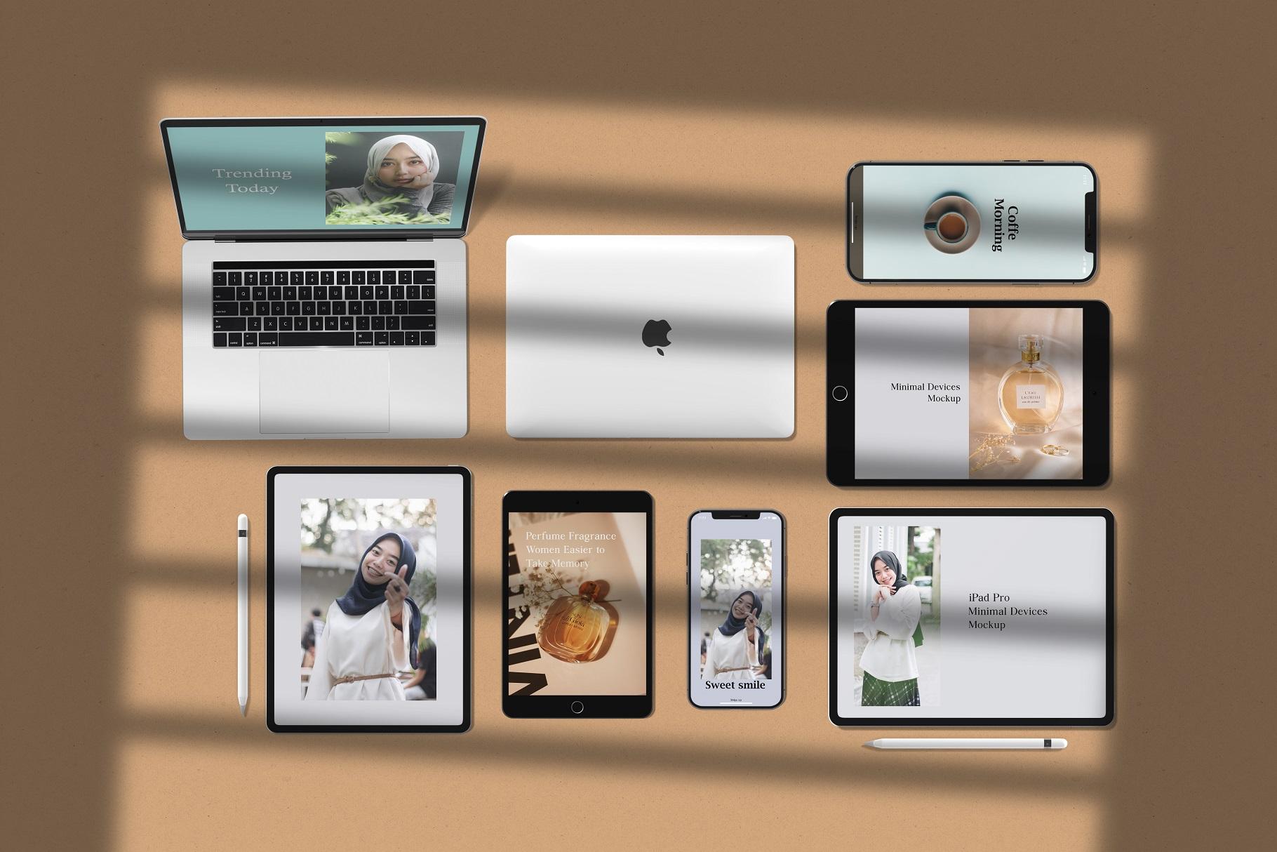 Minimal Devices Mock-Ups example image 11
