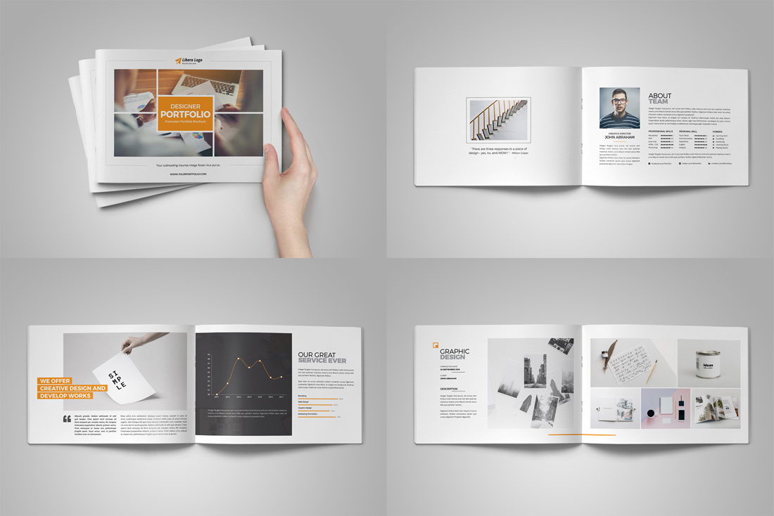 Portfolio Brochure Bundle example image 18