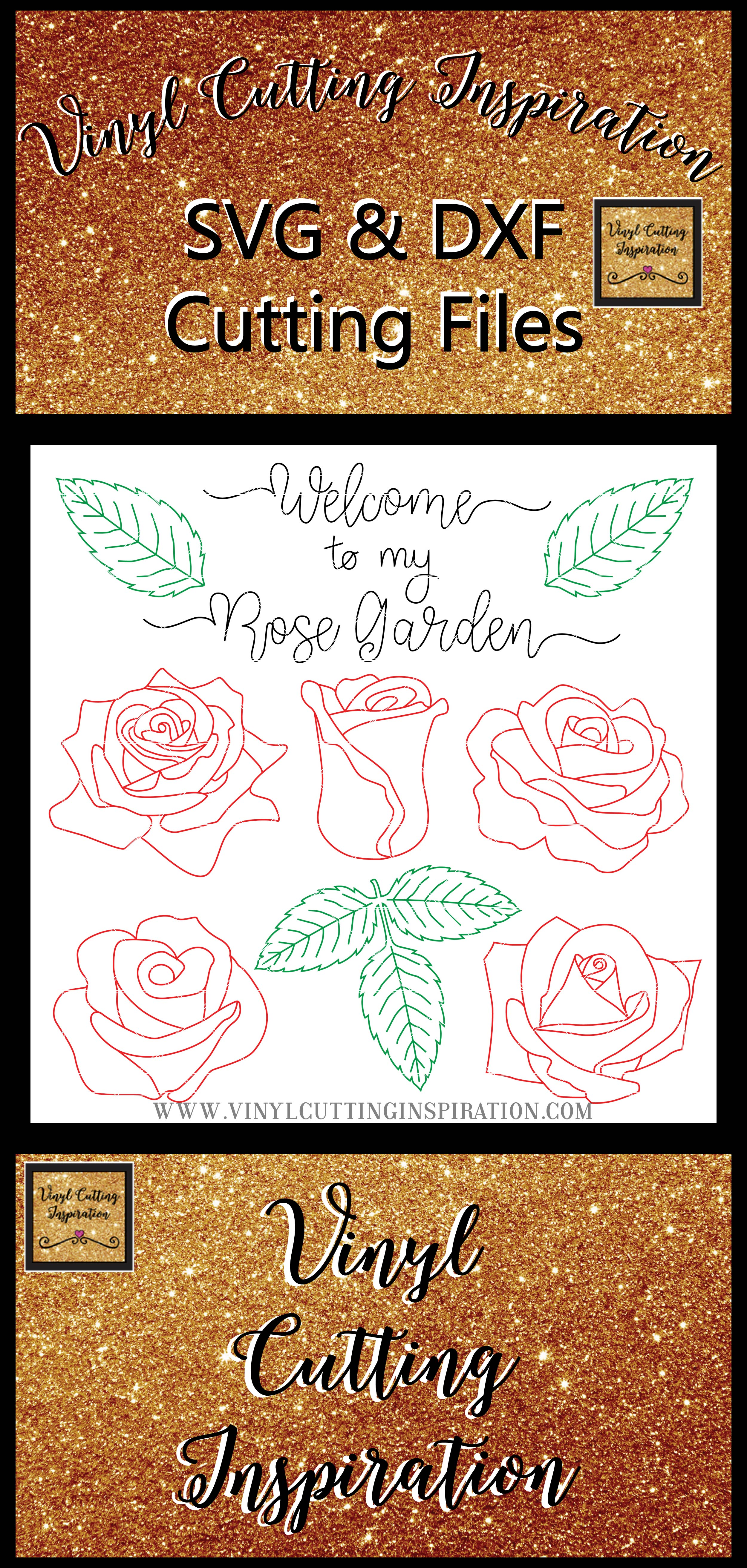 Foil Quill Designs Foil Quill Sketch Rose Svg Foiling SVG example image 4