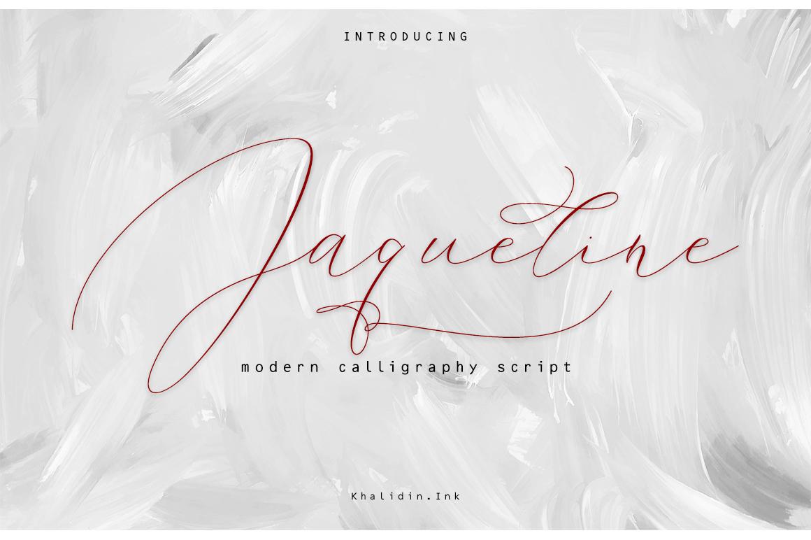 Jaqueline example image 1