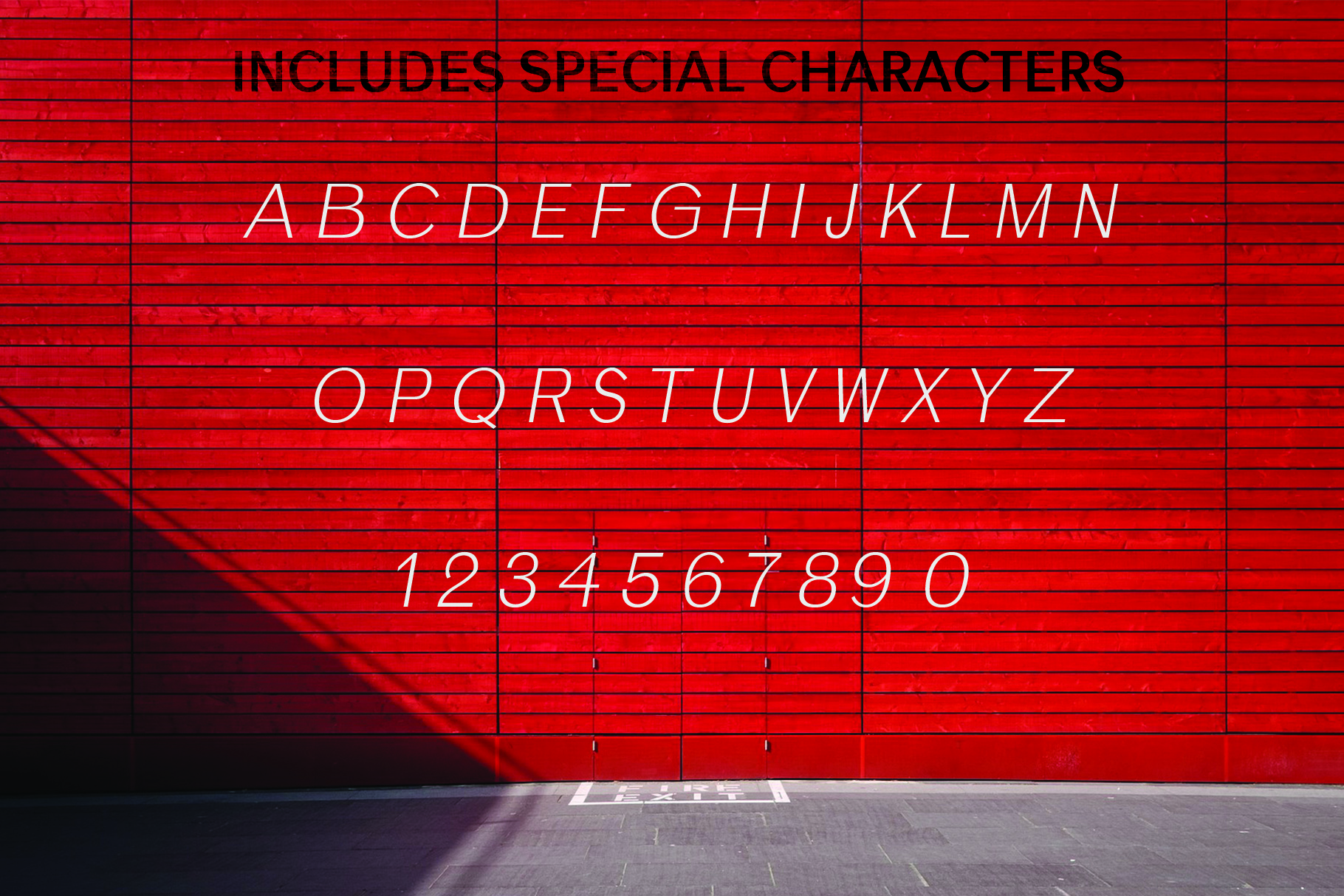 ANASTASIA, A modern typeface example image 10