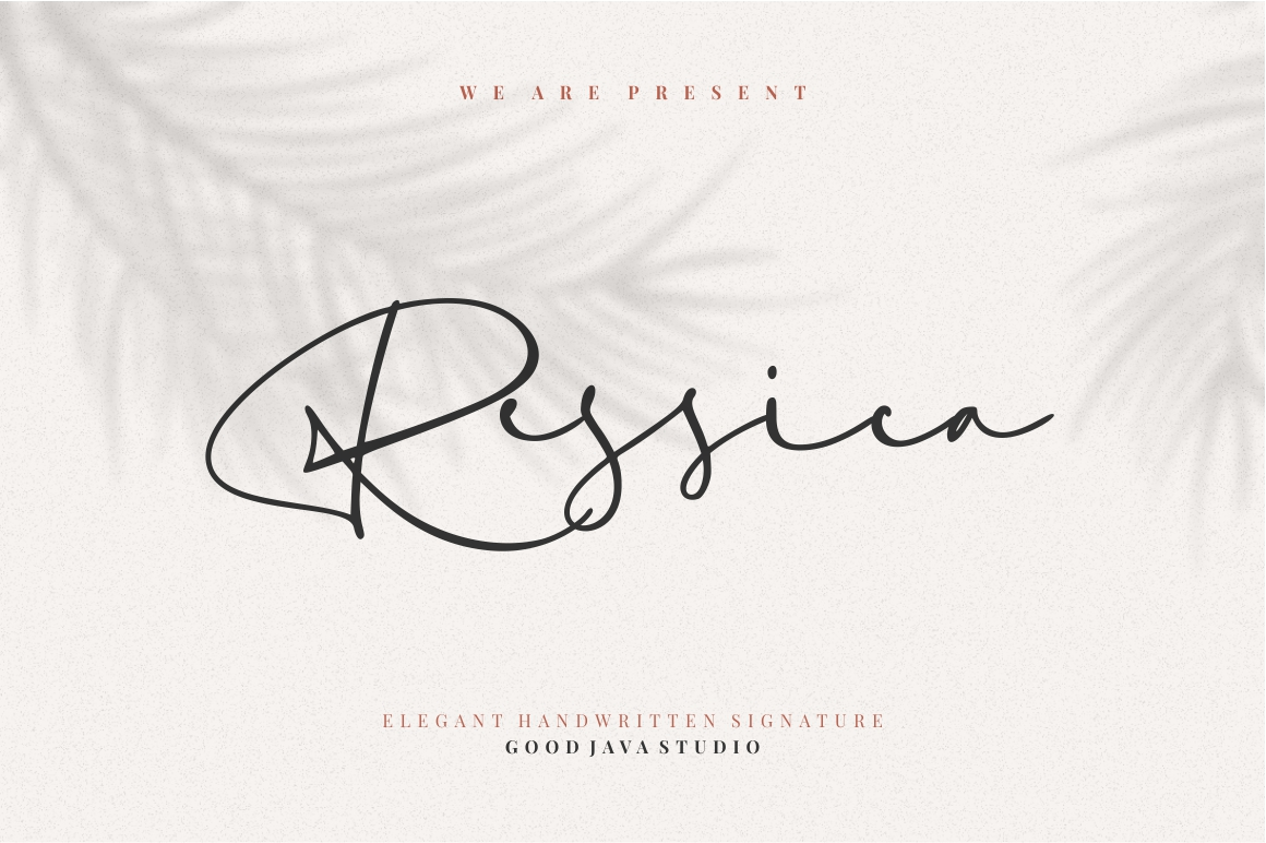 Ressica - Modern Font example image 1
