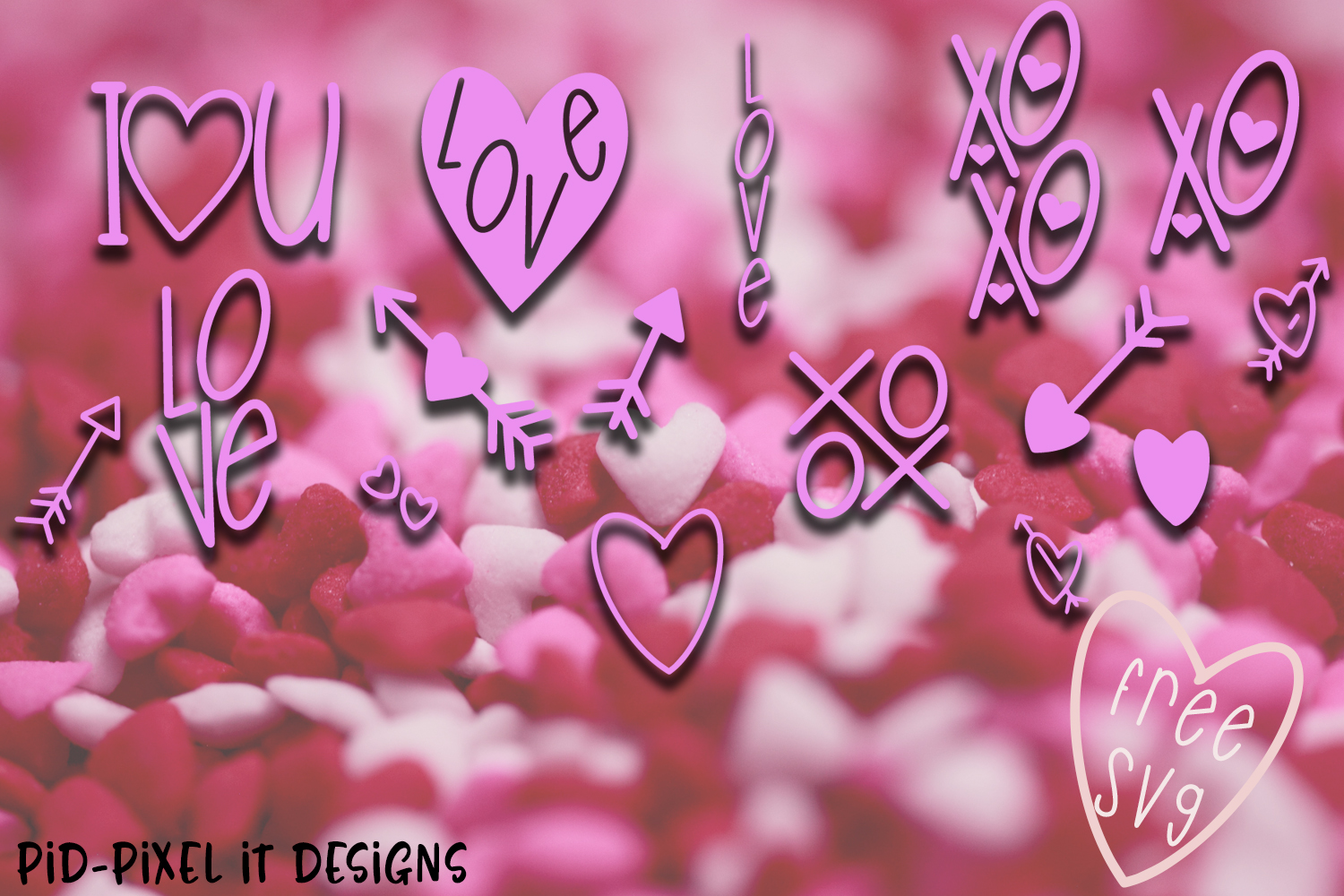 LoveFest A Cute Heart Font example image 5
