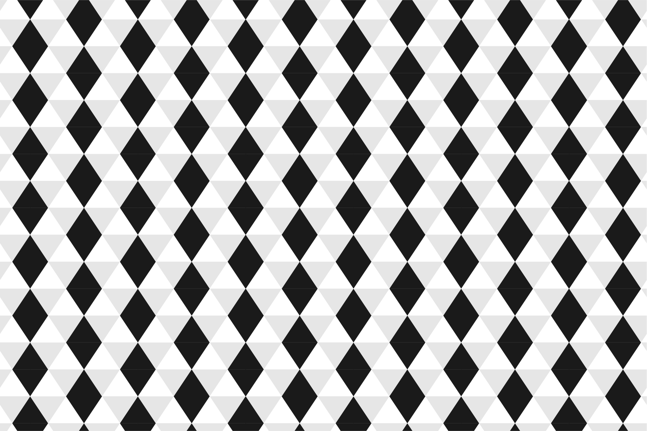 Geometric seamless patterns. B&W. example image 7