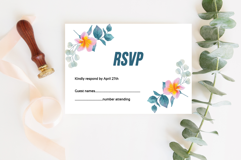 Wedding Invitation Suite example image 4