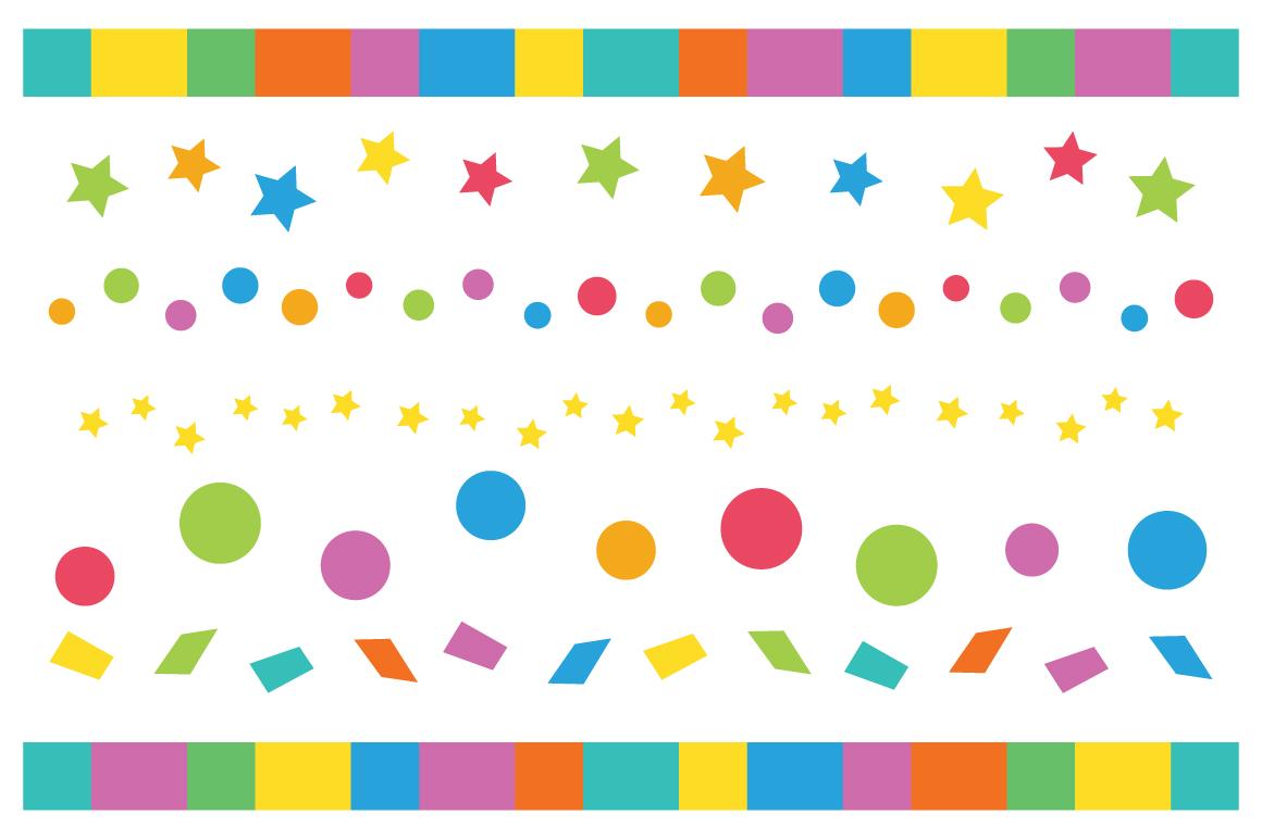 Happy Birthday Party Clip Art Set example image 3