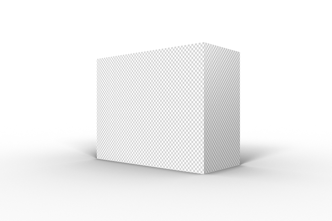 9.7.4 Simple 3D Box Mockup PSD example image 2