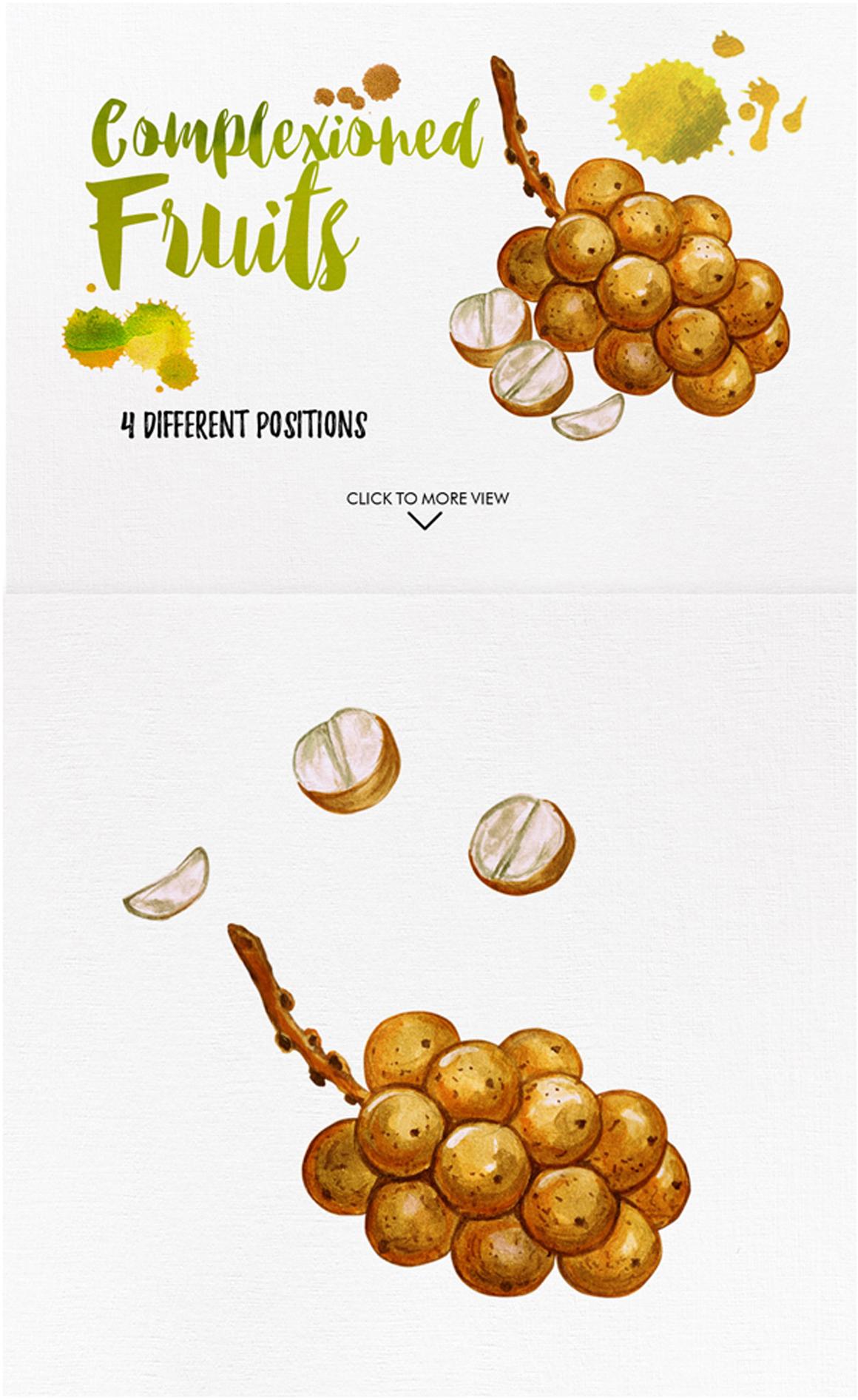 watercolor fruit vol.7 example image 5