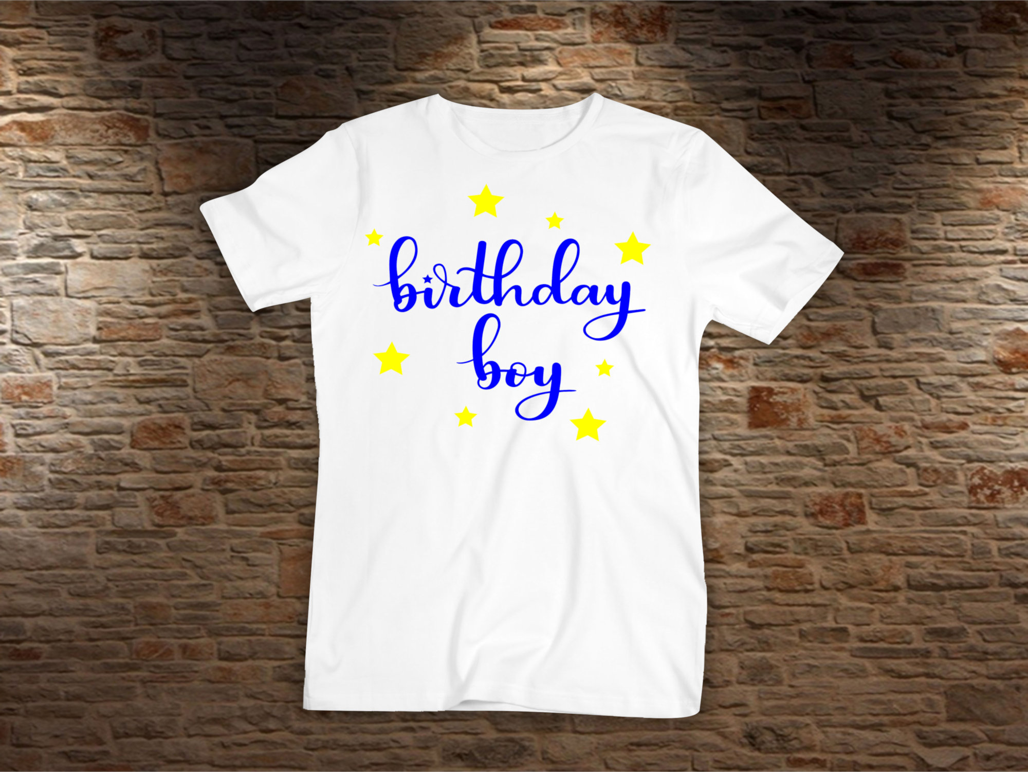 Birthday SVG Bundle - 4 birthday SVG files, Handlettered example image 7