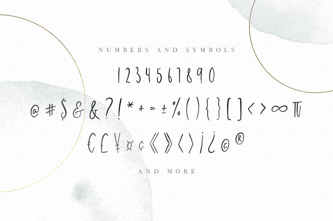 Milano Sky Signature Script Font example image 5